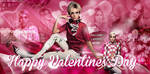 Free Valentines Day PSD Header Cara Delevingne by Anuya