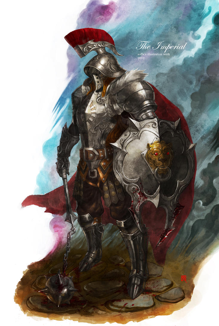 imperial armor by manusia
