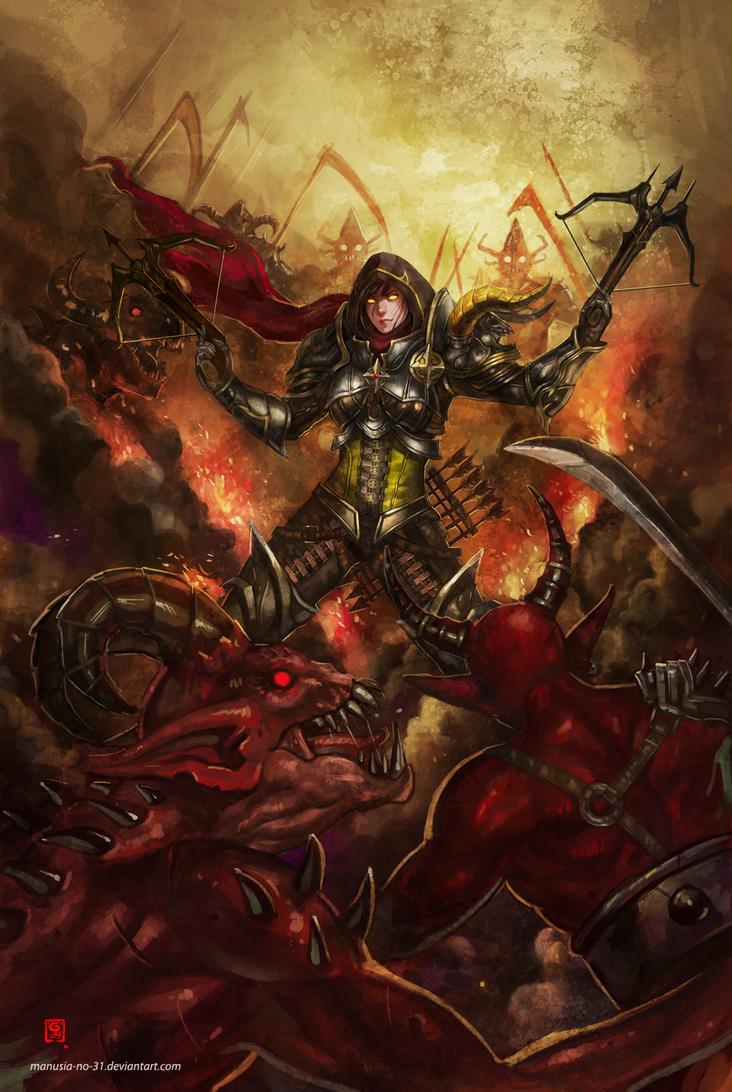 Demon Hunter by manusia-no-31