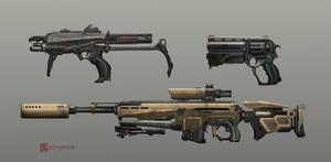 Test guns