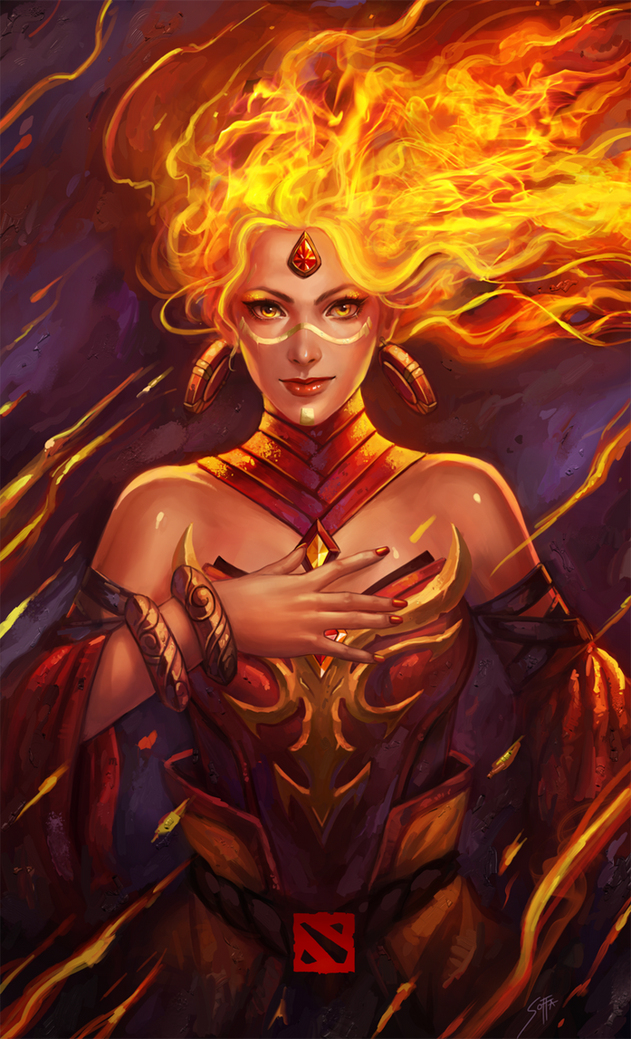 Dota  Lina By M Ia No