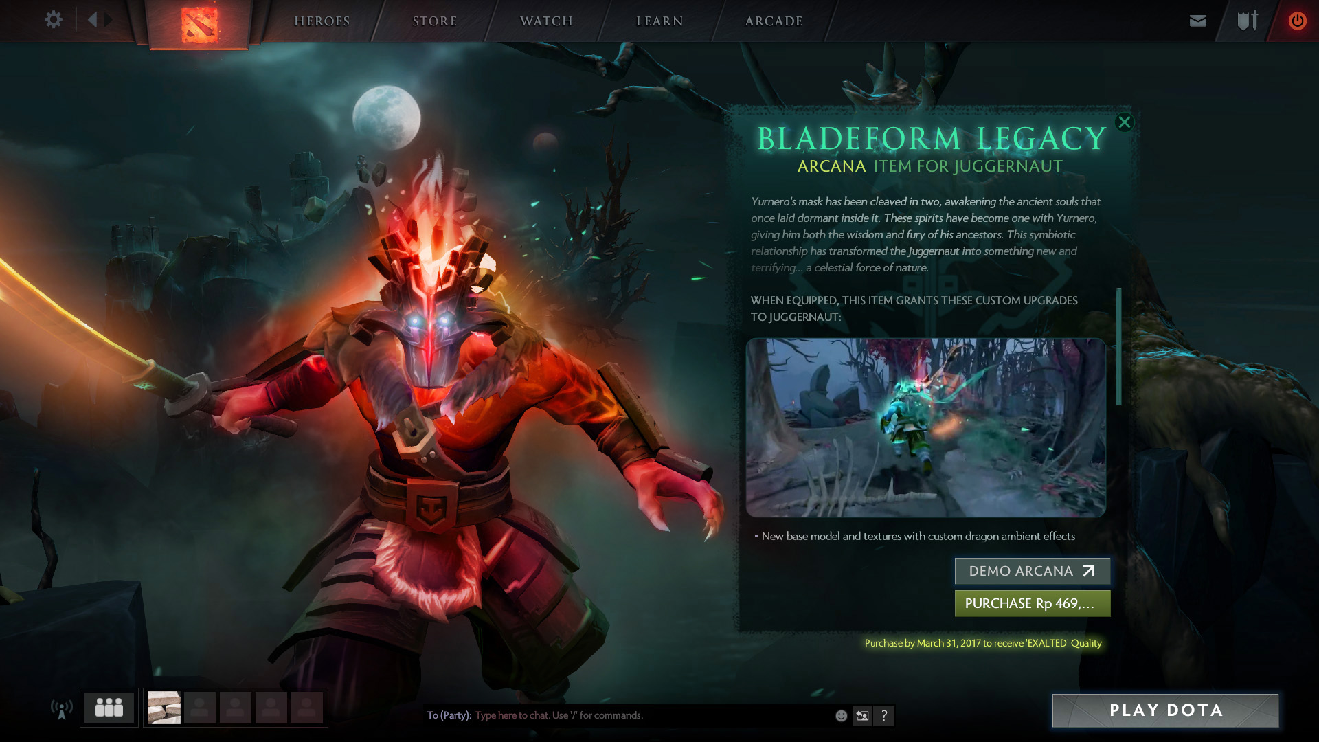 Reddit petitions Valve to take the new Juggernaut Arcana