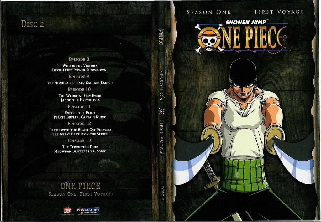 One Piece - Season One - First Voyage - Disc 02 by salar2 on DeviantArt