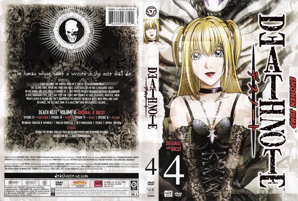 Death Note - Volume 04 by salar2 on DeviantArt