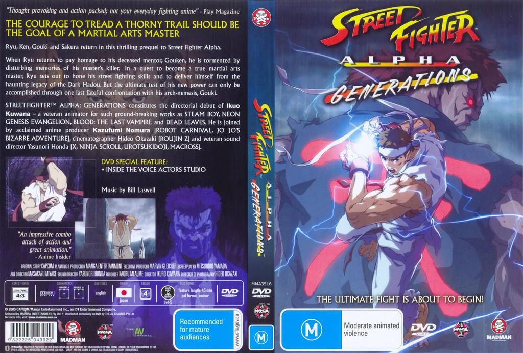 Street Fighter Alpha Generations By Salar2 On Deviantart