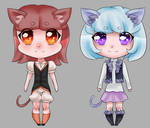 Cute Kitty Adopts Set 2 [POINTS- OPEN]