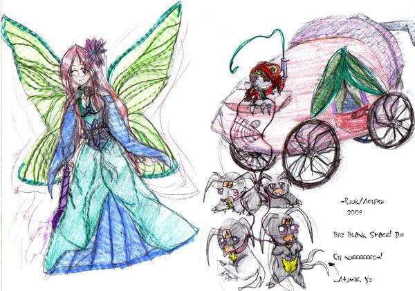 Queen Mab the Fairy by Achird