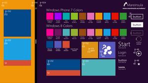 Windows 8 preview template by juanpablogc