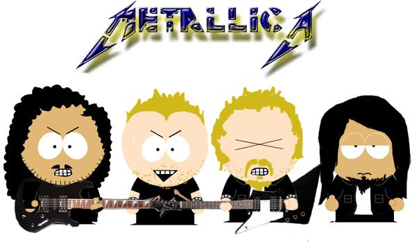 Metallica as South Park by Rocket-Boy on DeviantArt