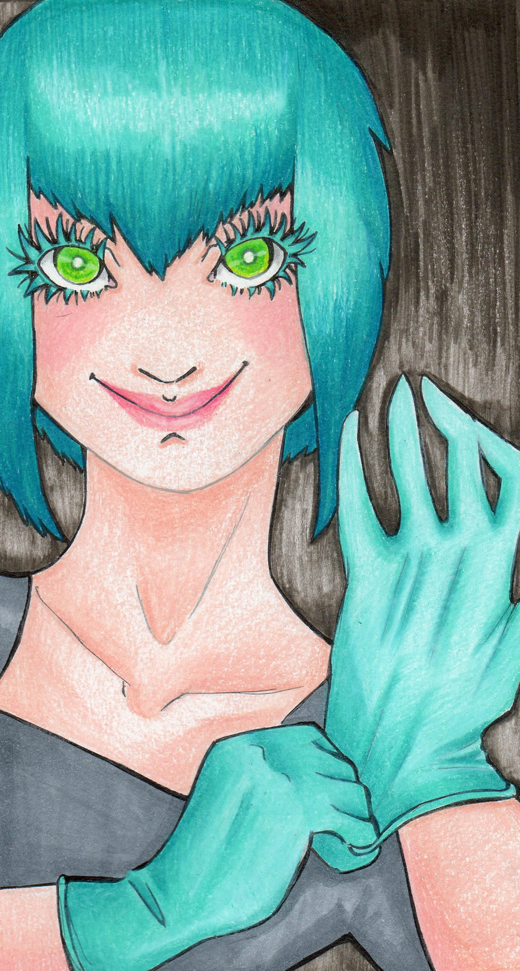 Latex Gloves by MissContrary013