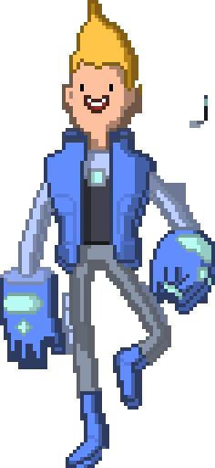 Chris - Bravest Warrior Pixel Art by Padzee