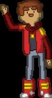 Danny - Bravest Warriors Pixel Art