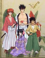 Rurouni Kenshin Gift by ToPpeRa-TPR