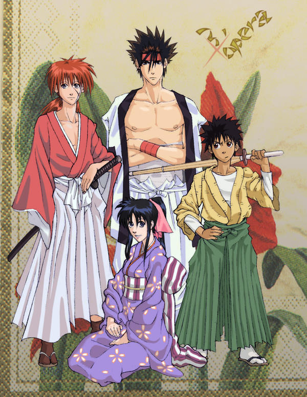 Galeria de Desenhos - Toppera-TPR Rurouni_Kenshin_Gift_by_ToPpeRa_TPR