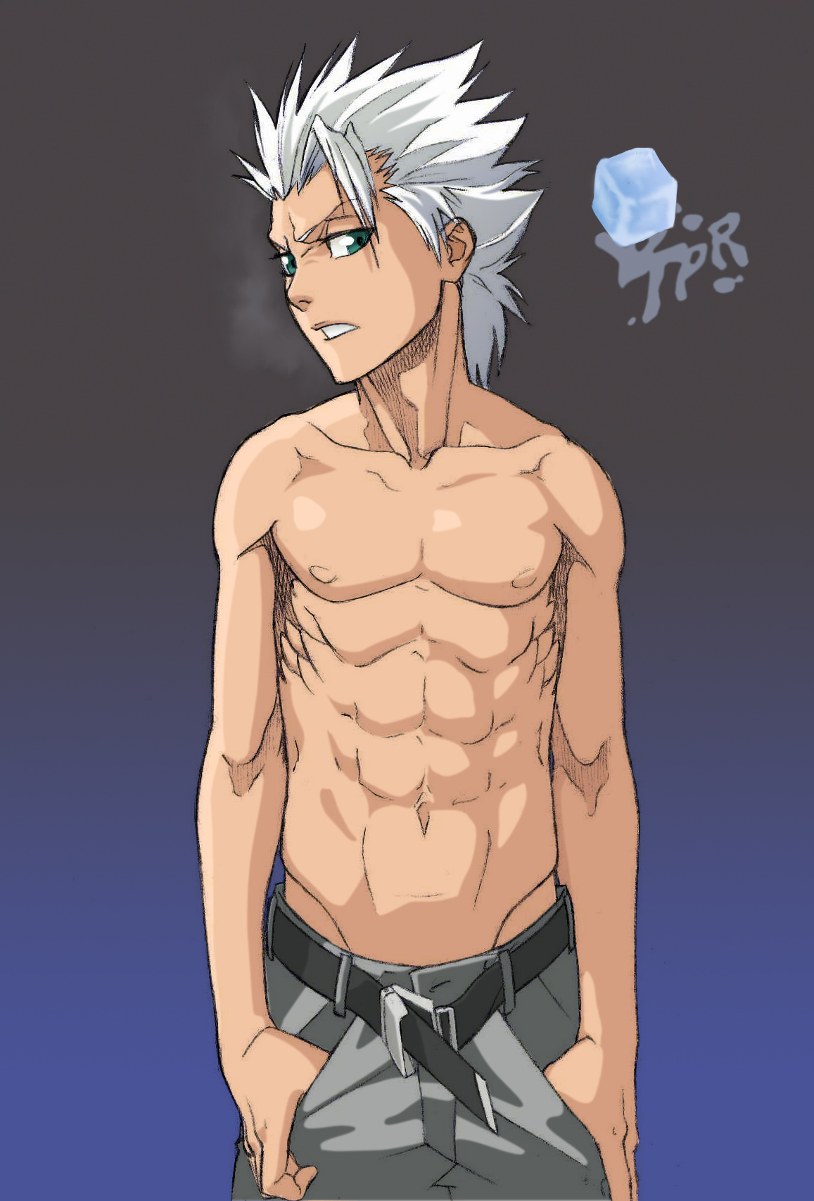 Dragón de hielo. Hitsugaya___BLEACH_Series_by_ToPpeRa_TPR
