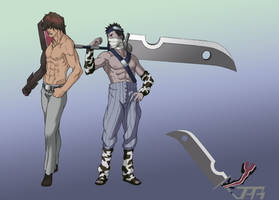 Comission - Chad and Zabuza by ToPpeRa-TPR