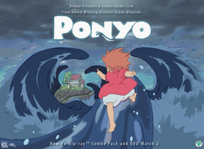 Ponyo Contest: To the cliff by ToPpeRa-TPR