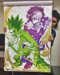 Gon and Killua - Flip Chart