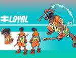 Loyal - Kunai Academy Char. Model - Commission