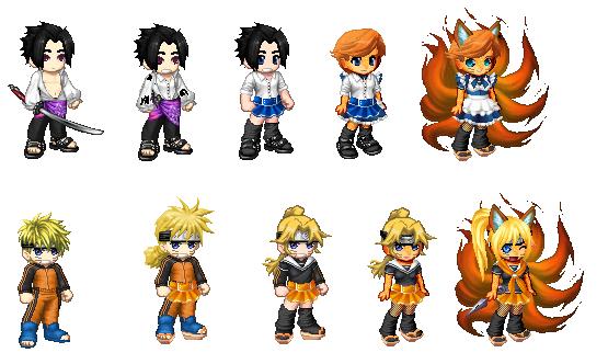 Naruto Sasuke fox girl tg by pikaman6