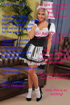 Maid Master swap caption
