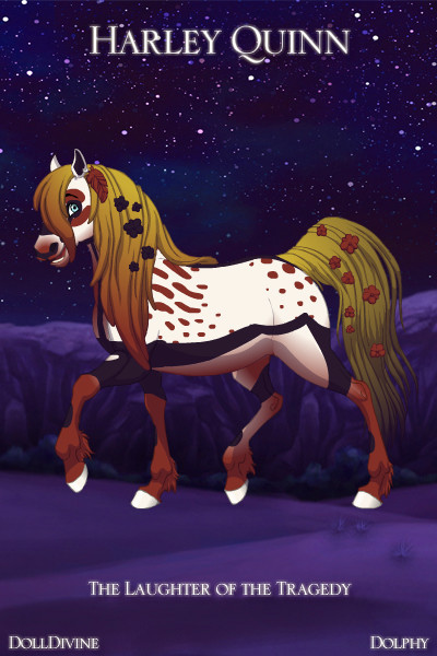 fantasy horse harley quinn by tigressa202 on deviantart. Black Bedroom Furniture Sets. Home Design Ideas