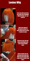 Tutorial-Leeloo Wig