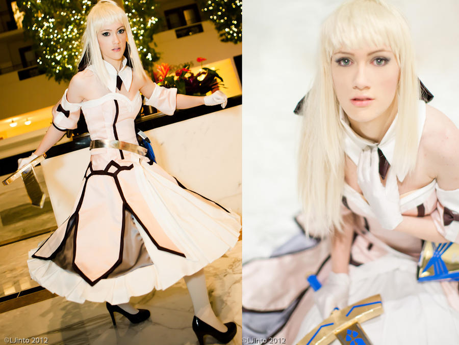 Saber Lily by RuffleButtCosplay
