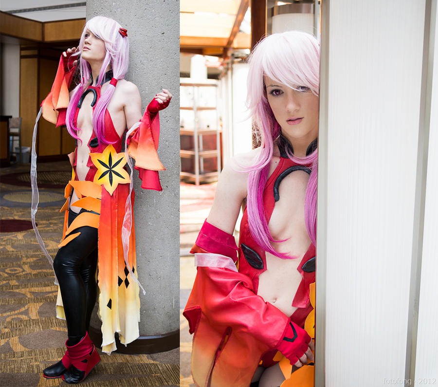 inori battle outfit guilty crown by rufflebuttcosplay
