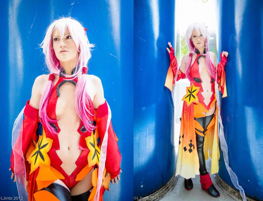 Inori - Battle Outfit - Guilty Crown II by RuffleButtCosplay