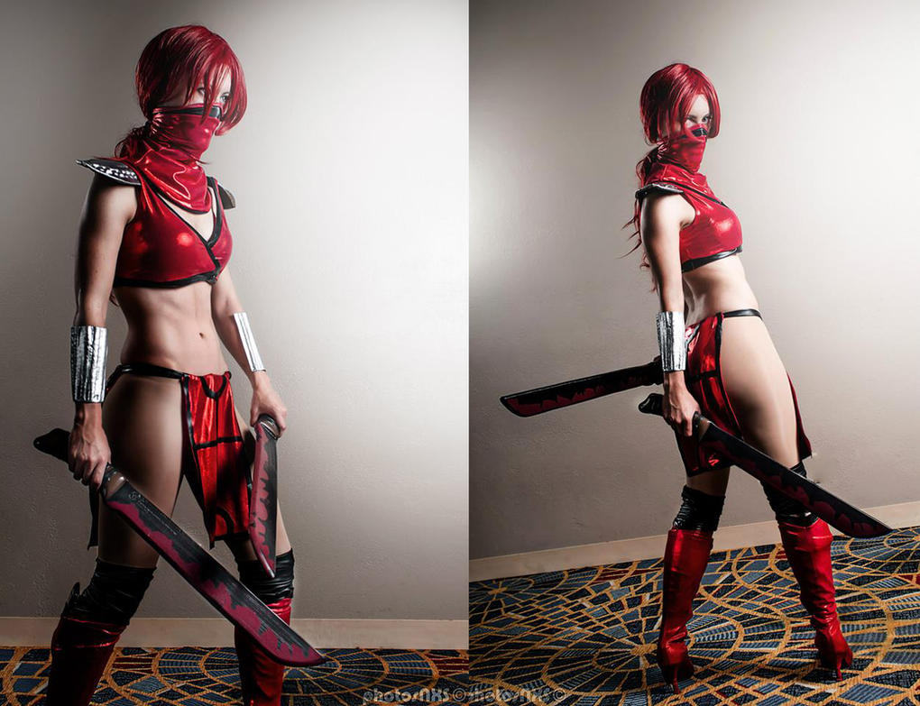 Skarlet from Mortal Kombat by RuffleButtCosplay