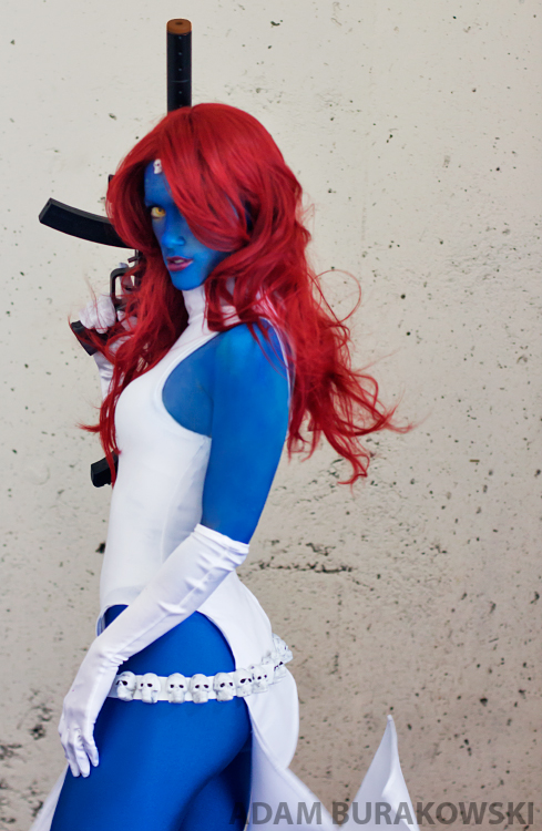 Mystique from X Men by RuffleButtCosplay