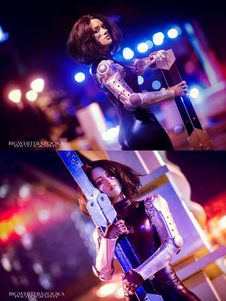 Battle Angel Alita by RuffleButtCosplay