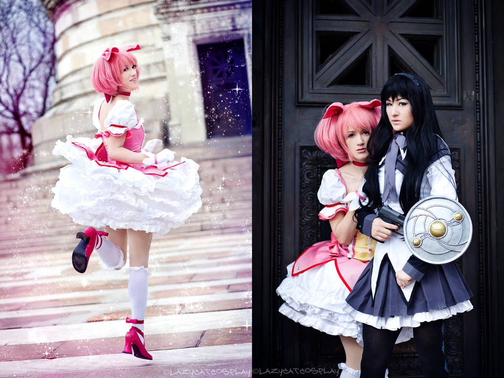 Magical Girl Madoka and Homura