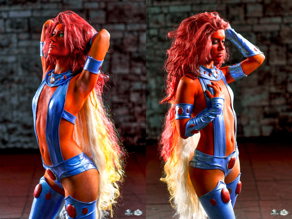 More Starfire! by RuffleButtCosplay