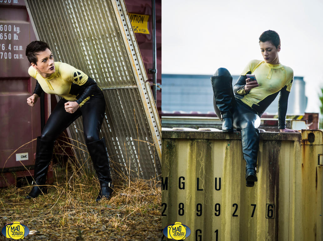 Negasonic Teenage Warhead 1 by RuffleButtCosplay