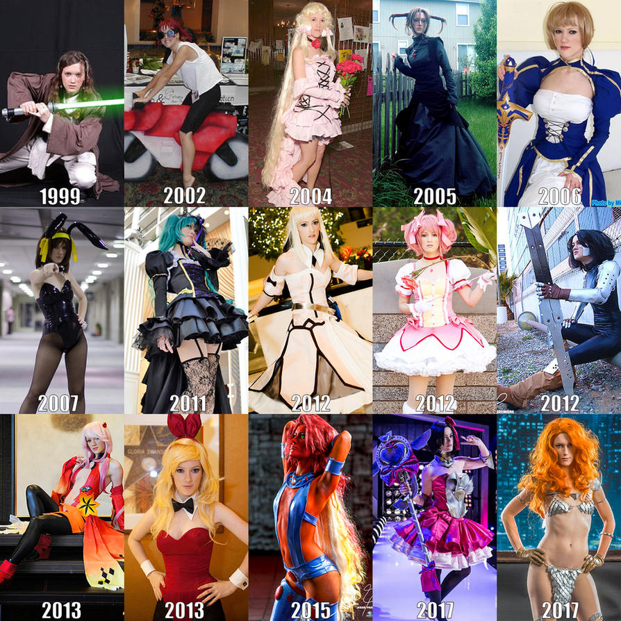 18 Years as a Cosplayer by RuffleButtCosplay