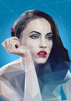 Megan Fox on Triangulation Vector