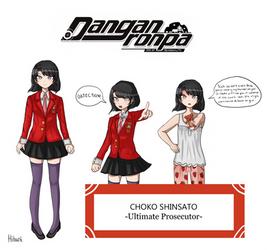 Choko Shinsato by Hibuni