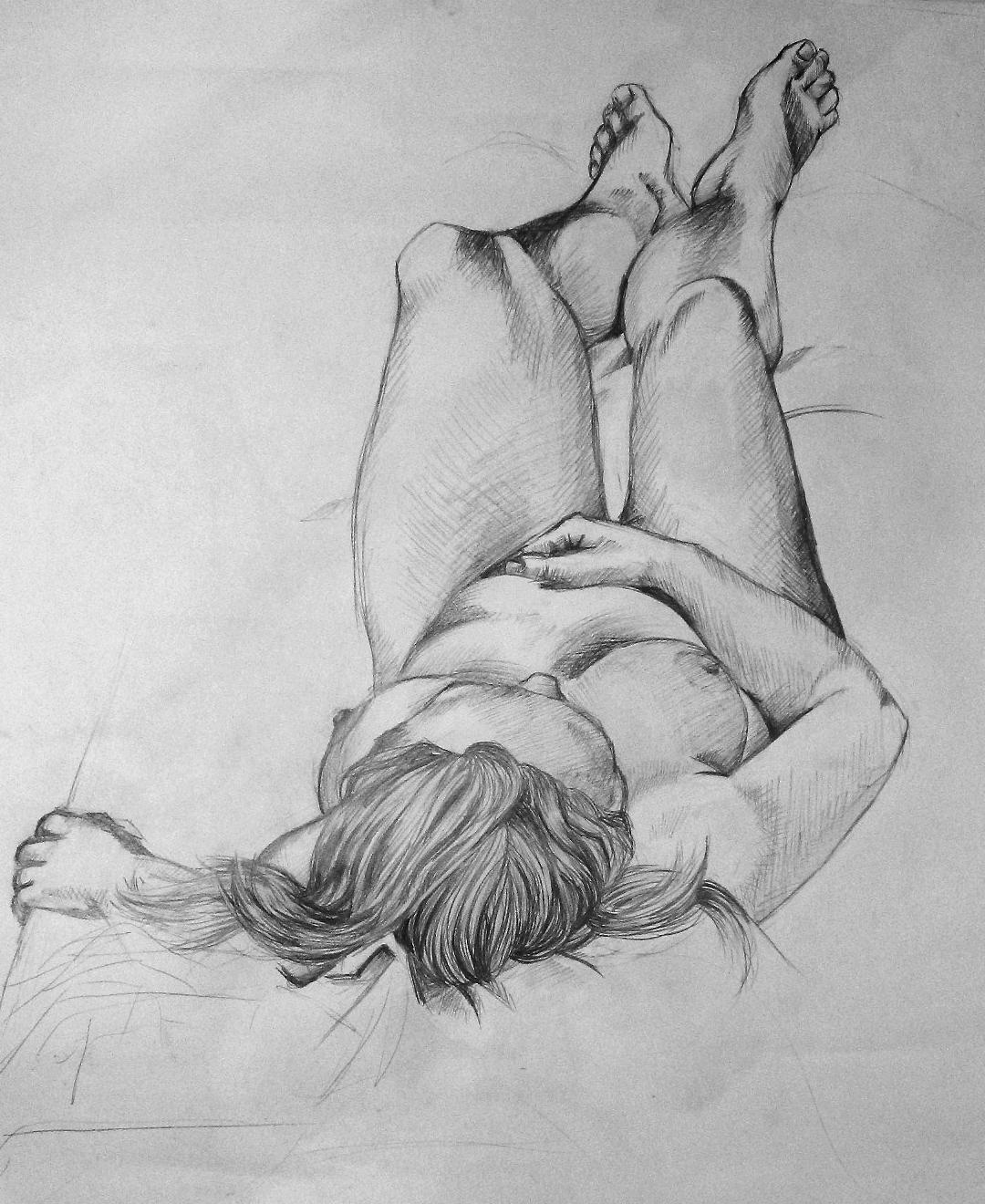 Crteži olovkom/grafika - Page 20 Life_Drawing___Pencil_by_Kittencatty