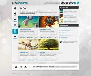Prospector - Blog Page