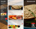 Blog Page of Ristorante Responsive WP Theme