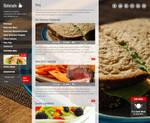 Blog Page of Ristorante Responsive WP Theme