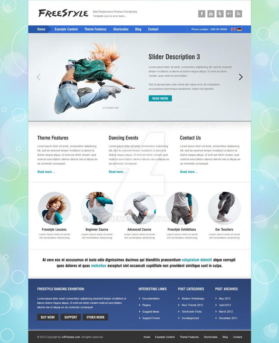 FREESTYLE WP Theme by ait-themes