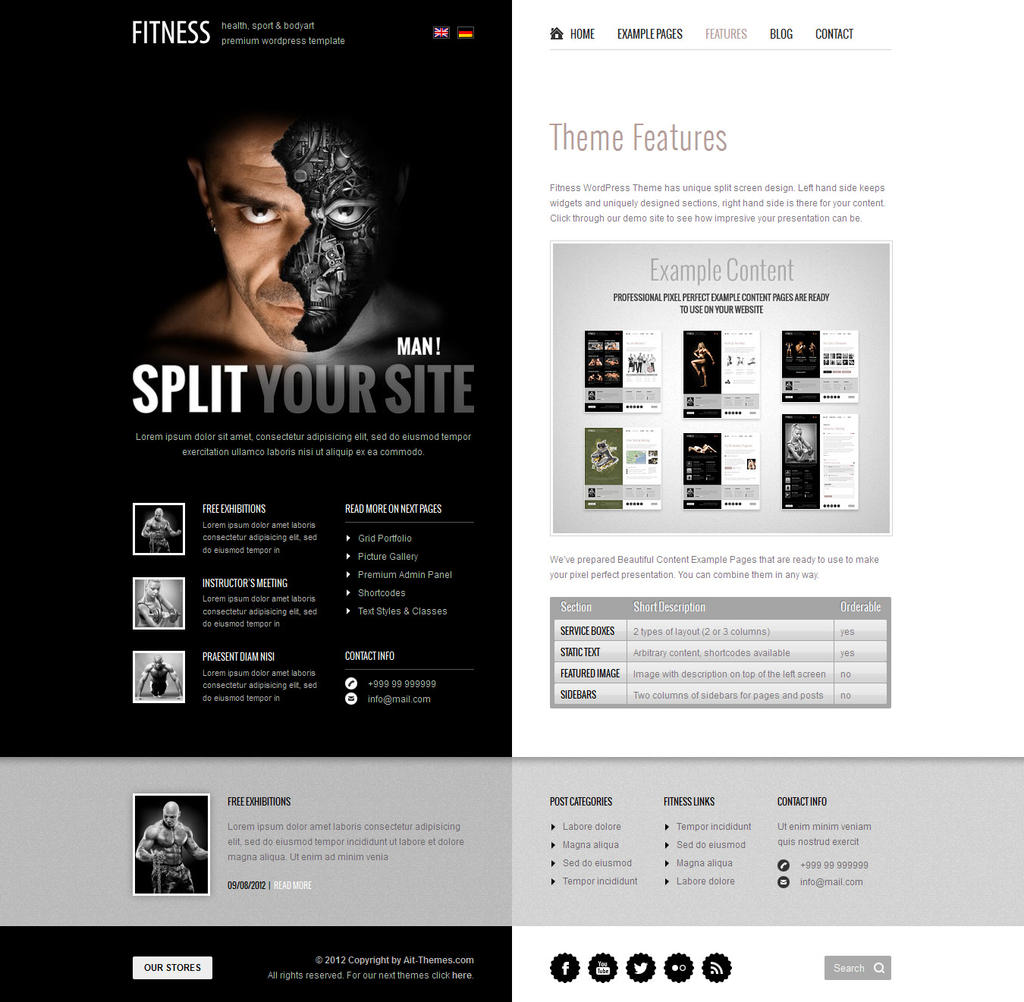 Man! Split your site. by ait-themes