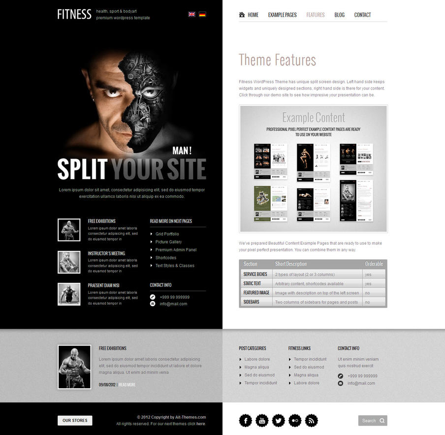 Man! Split your site. by ait-themes