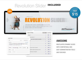 Enjoy REVOLUTION with us! by ait-themes