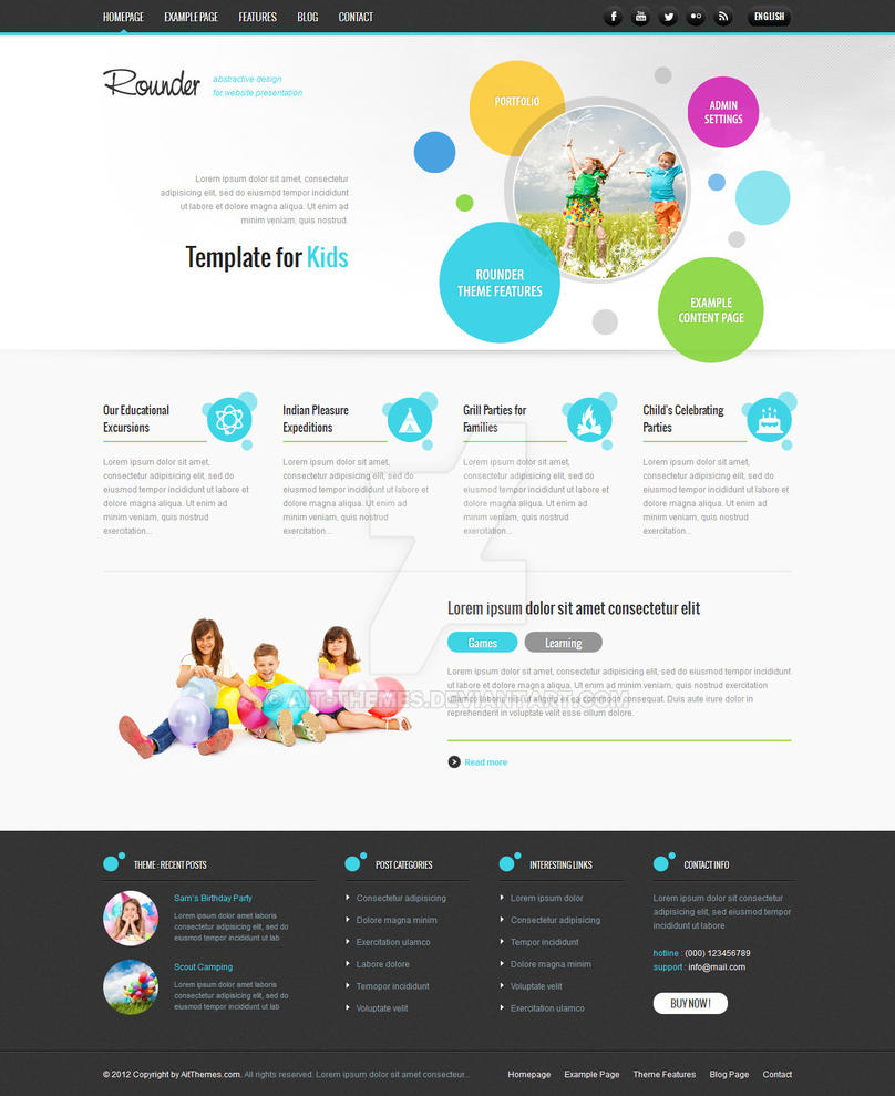 Fresh and Dynamic Design by ait-themes