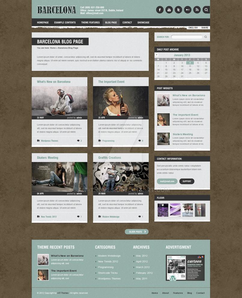 Unique WP Blogging by ait-themes