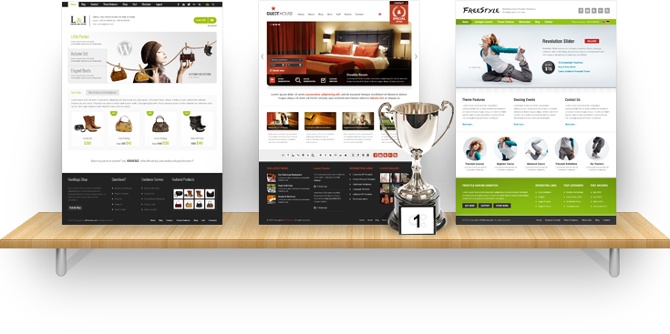 Webdesign Showcase Image By Aitthemes On DeviantArt - Photo contest website template